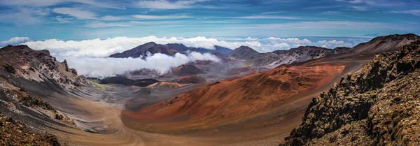 Top Of Haleakala Crater Poster