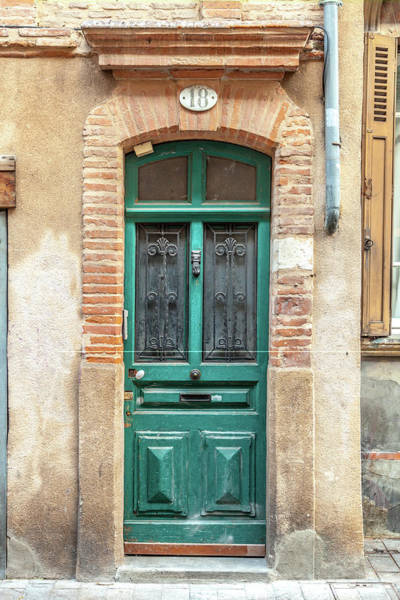 Toulouse Door Number 18 Poster
