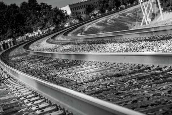 Tracks Through Historic Buford Poster