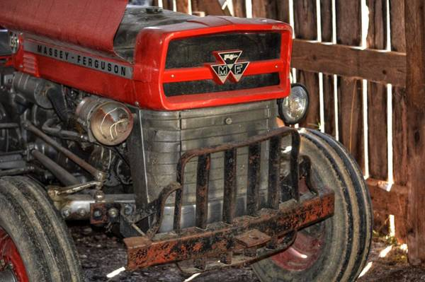 Tractor Grill  Poster