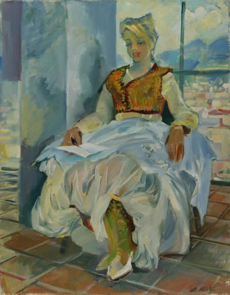 Traditional Costume Of Tirana, Albania Poster