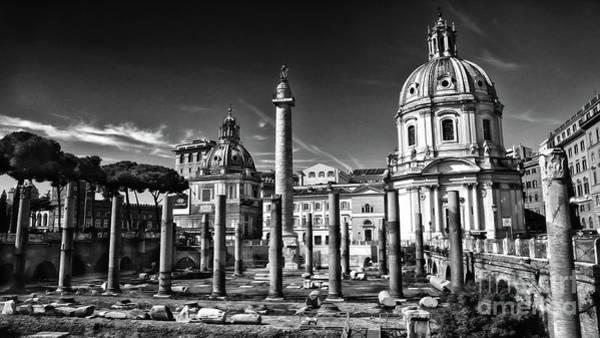 Trajan's Forum - Forum Traiani Poster
