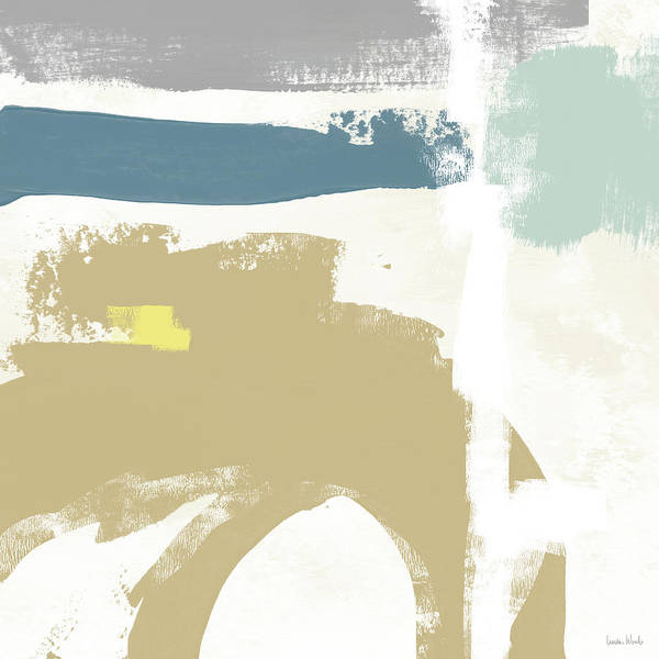 Tranquil Abstract 2- Art By Linda Woods Poster