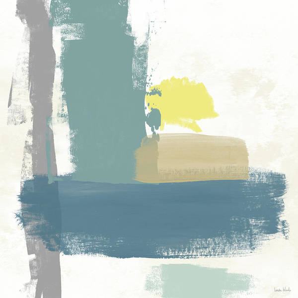 Tranquil Abstract 3- Art By Linda Woods Poster