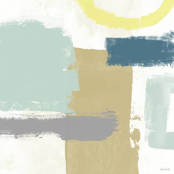 Tranquil Abstract 4- Art By Linda Woods Poster