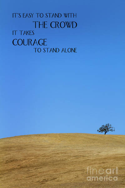 Tree Of Courage Poster