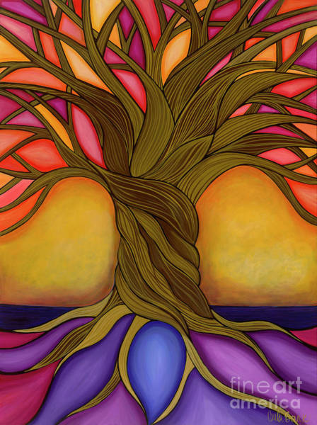 Poster featuring the painting Tree Of Life by Carla Bank
