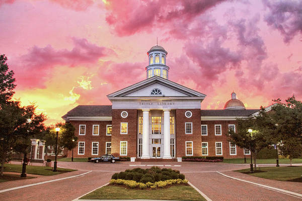 Trible Library Under A Crayola Sky Christopher Newport University  Poster