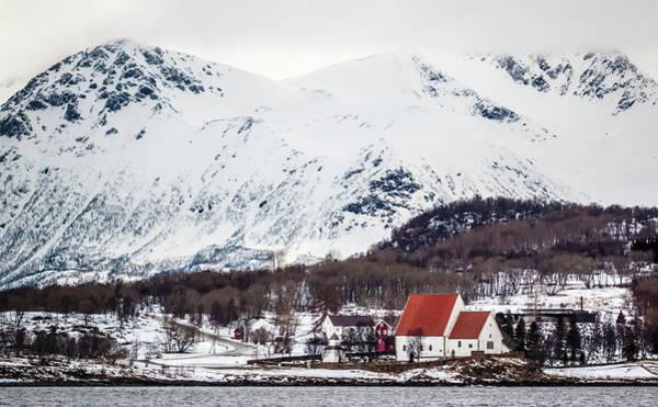 Trondenes Church Harstad Norway Poster