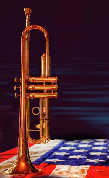 Trumpet-close Up Poster