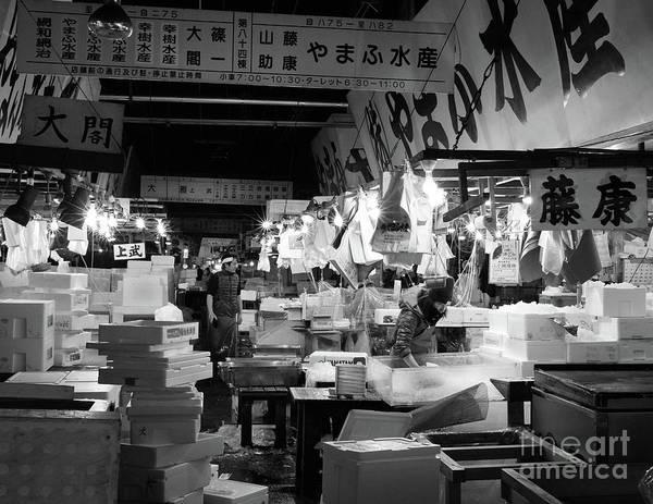 Tsukiji Shijo, Tokyo Fish Market, Japan 3 Poster