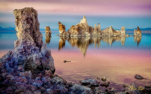 Tufas At Mono Lake Poster