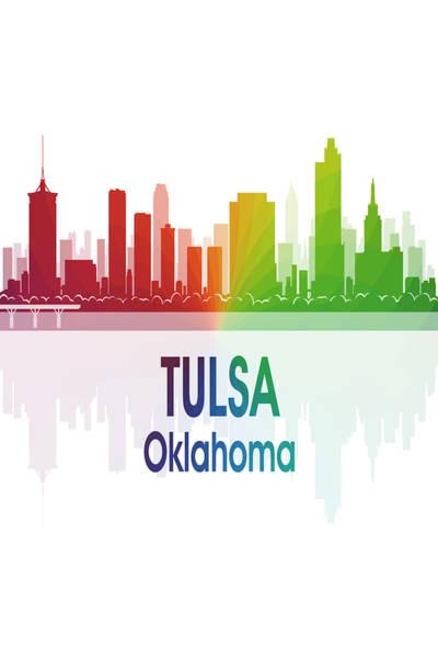 Tulsa Ok 1 Vertical Poster
