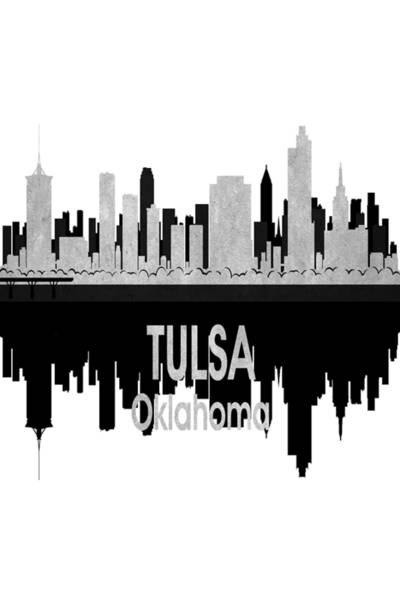 Tulsa Ok 4 Vertical Poster