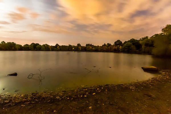 Turners Pond After Dark Poster
