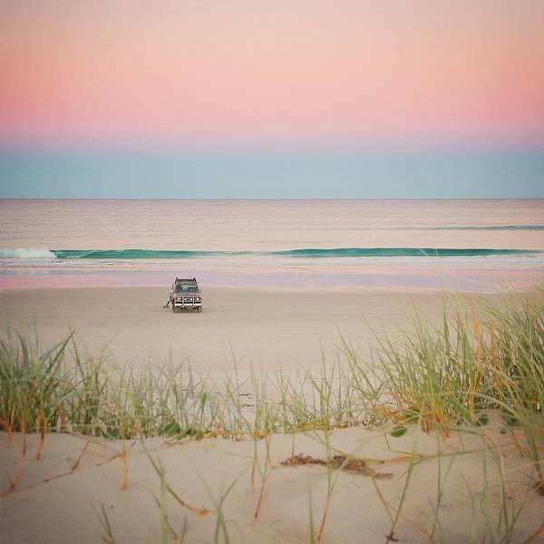 Twilight On The Beach Poster