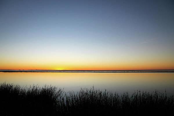 Twilight Stillness Down By The Beach Lagoon Poster