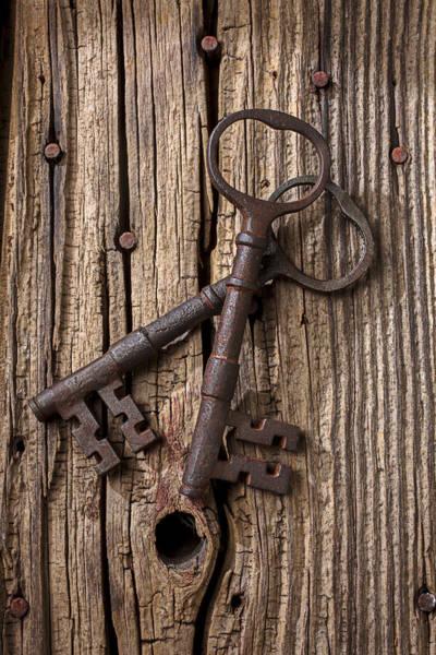 Two Old Skeletons Keys Poster