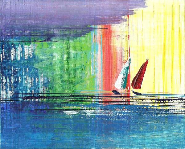 Two Sails Poster