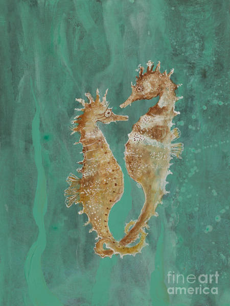 Two Seahorse Lovers Poster