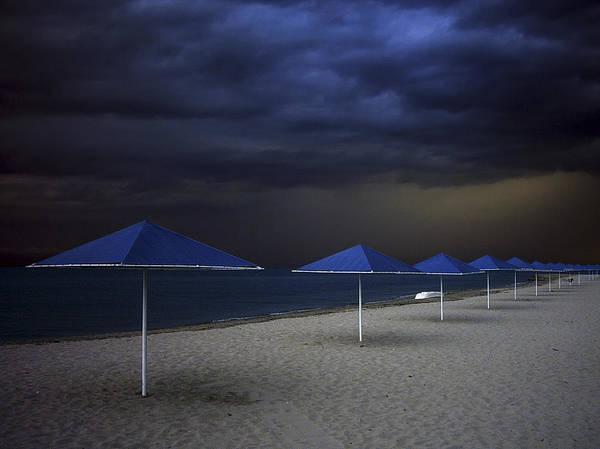 Umbrella Blues Poster