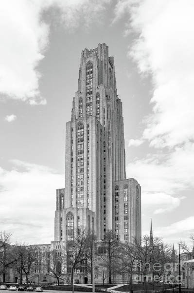 University Of Pittsburgh Cathedral Of Learning Poster