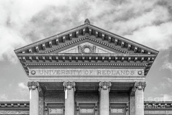 University Of Redlands Administration Building Poster