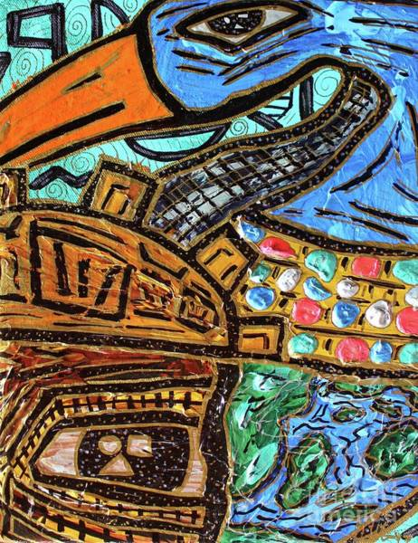Untitled Olmec And Tehuti Poster