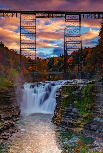 Upper Falls Letchworth State Park Poster