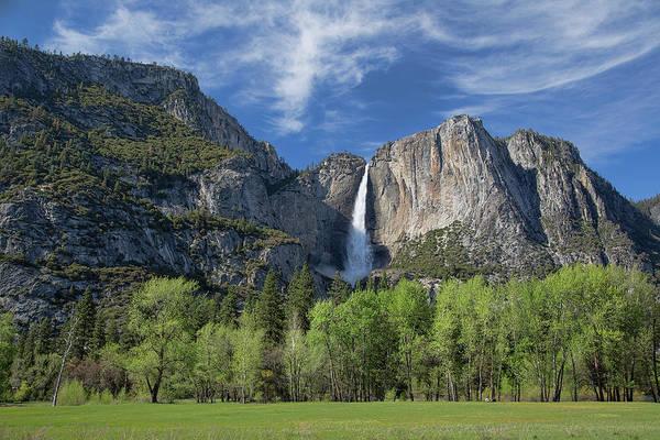 Upper Yosemite Falls In Spring Poster