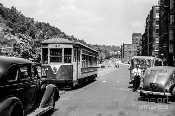 Uptown Trolley Near 193rd Street Poster