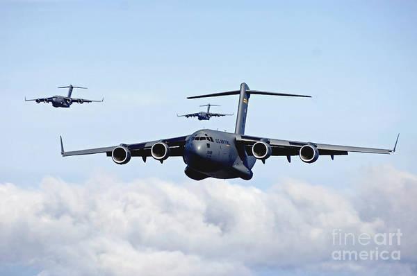 U.s. Air Force C-17 Globemasters Poster