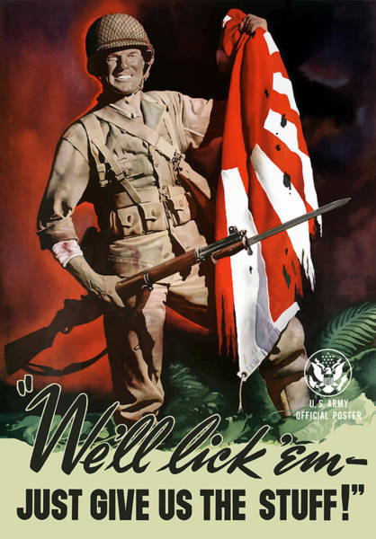 Us Army -- World War Two Propaganda Poster
