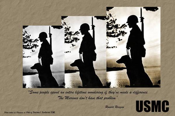 Usmc 1944 Poster