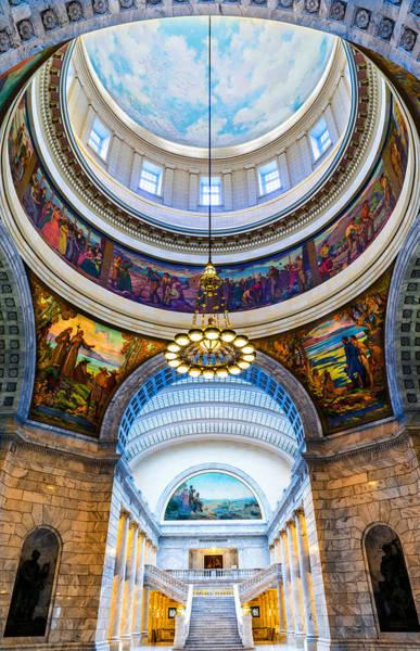 Utah State Capitol Rotunda #2 Poster