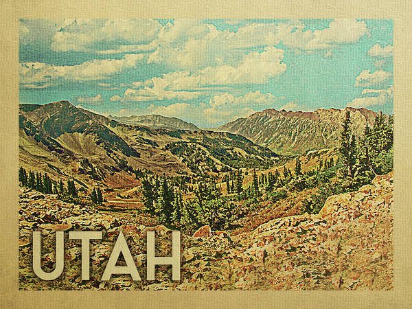 Utah Travel Poster Poster