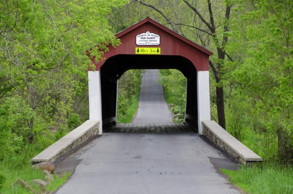 Van Sandt Covered Bridge - Bucks County Pa Poster