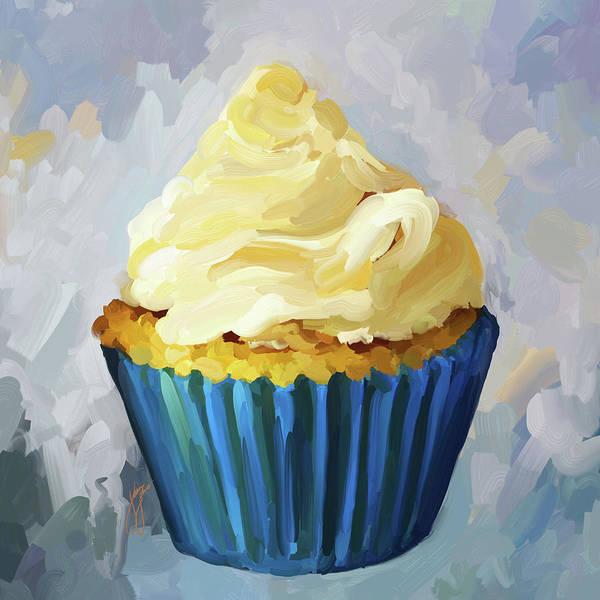 Vanilla Cupcake Poster