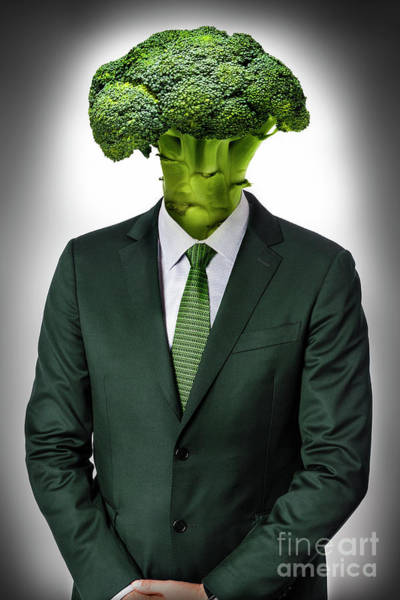 Vegan Man Poster
