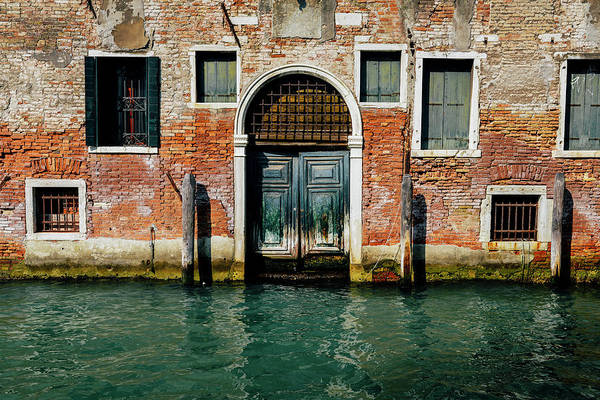 Venetian House On Canal Poster