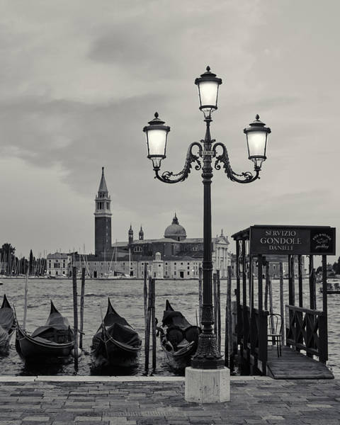 Venetian Streetlamp Poster