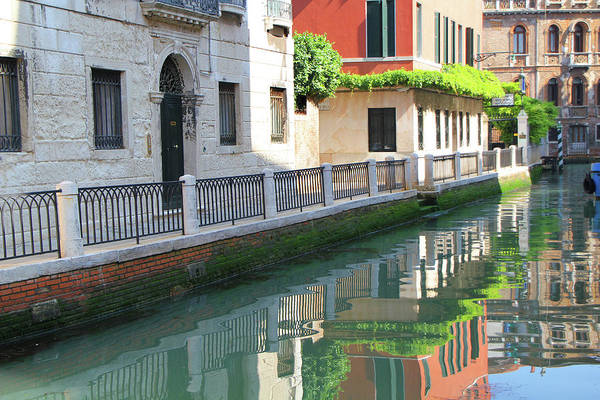 Venice Canal Reflection 3 Poster