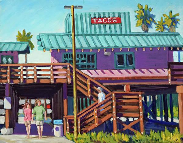 Ventura Pier - Tacos Poster