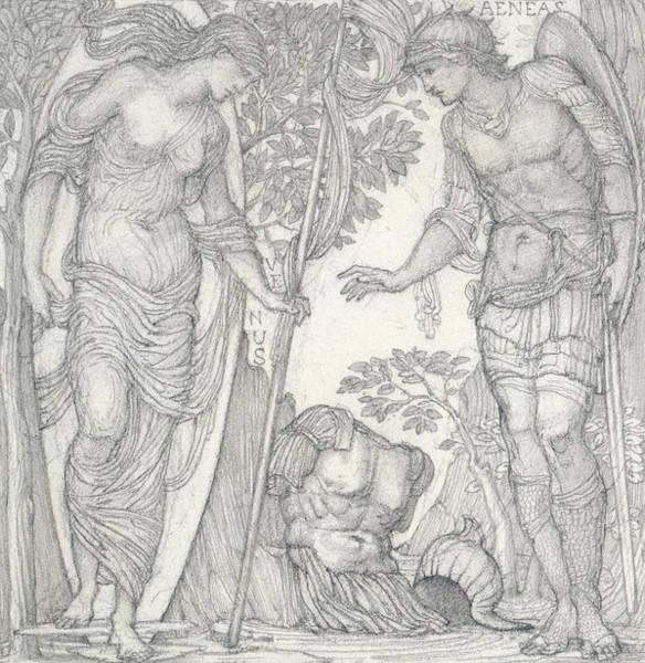 Venus Bringing Armor To Aeneas Poster