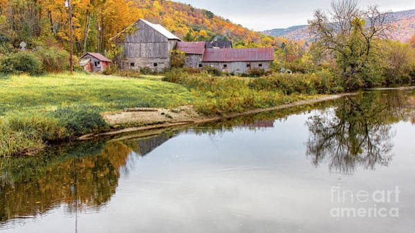 Vermont Countryside Poster