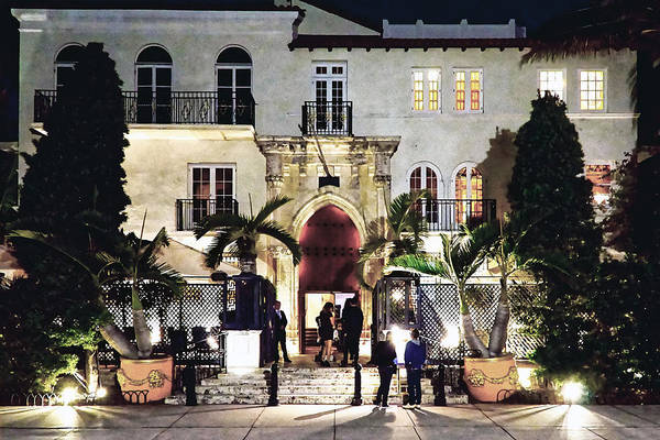 Versace Mansion South Beach Poster