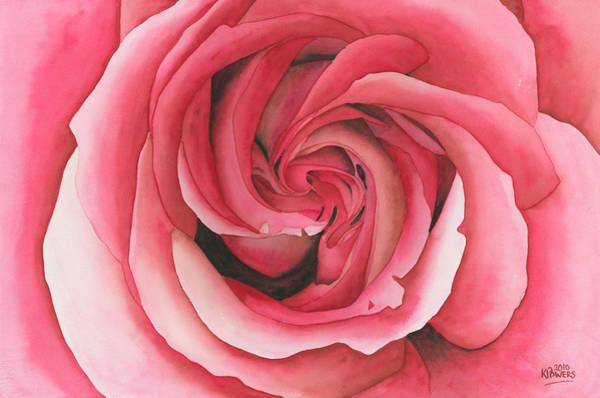 Vertigo Rose Poster