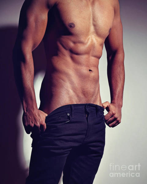 Very Sexy Man With Great Muscular Body Poster