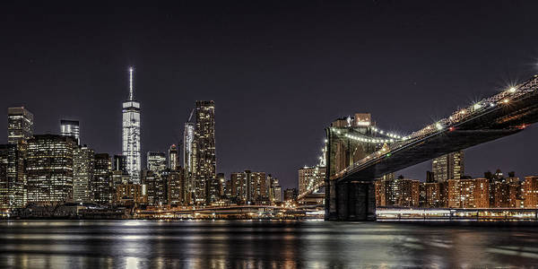 View From Brooklyn Bridge Park Poster