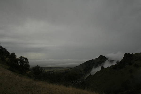 View From Sutter Buttes Poster